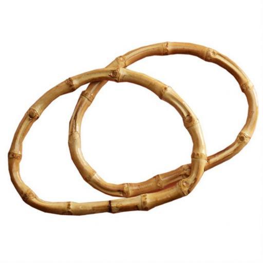 Asas de bambú semiplanas