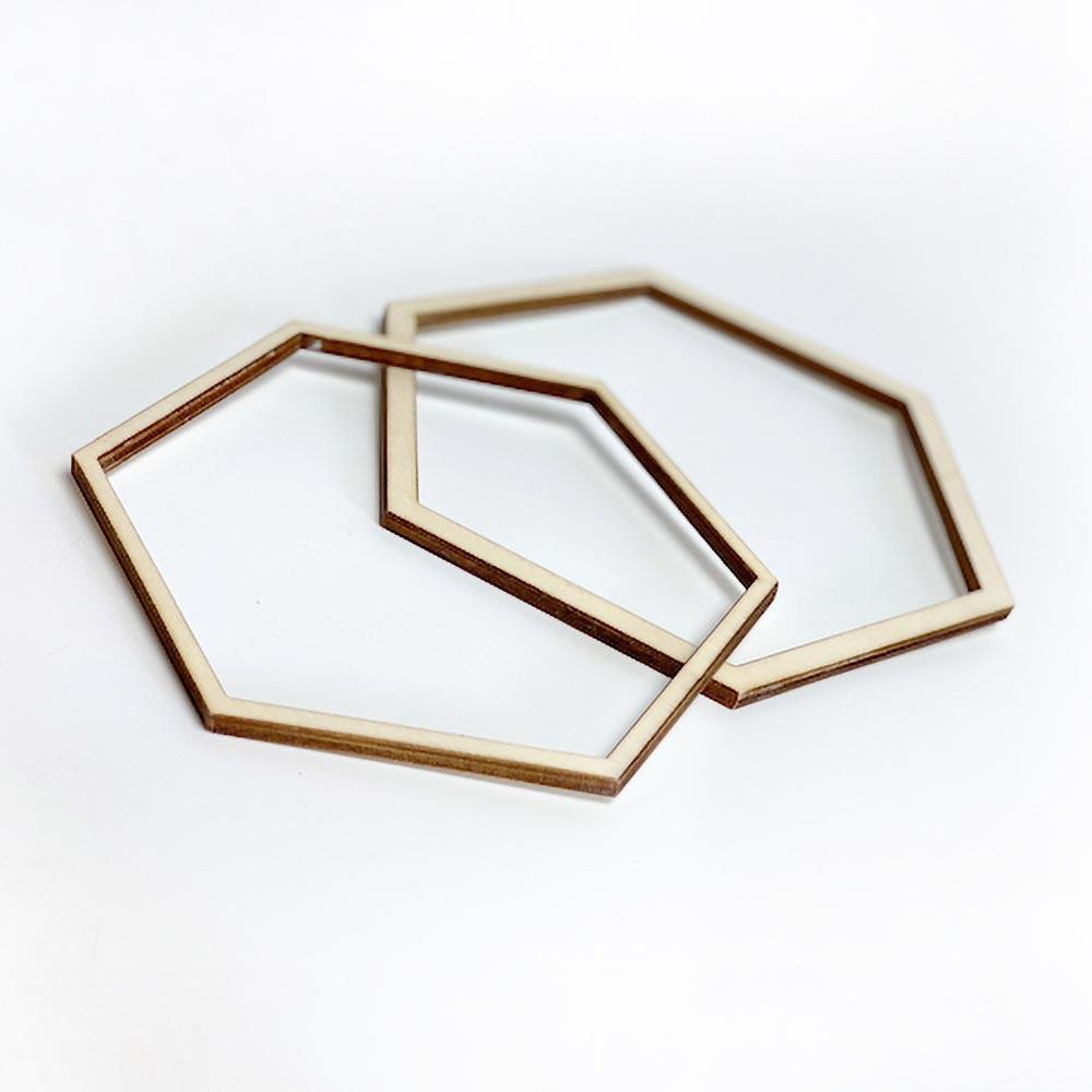 Bastidor hexagonal grande