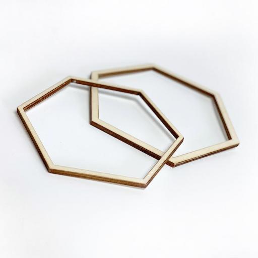 Bastidor hexagonal mediano [3]