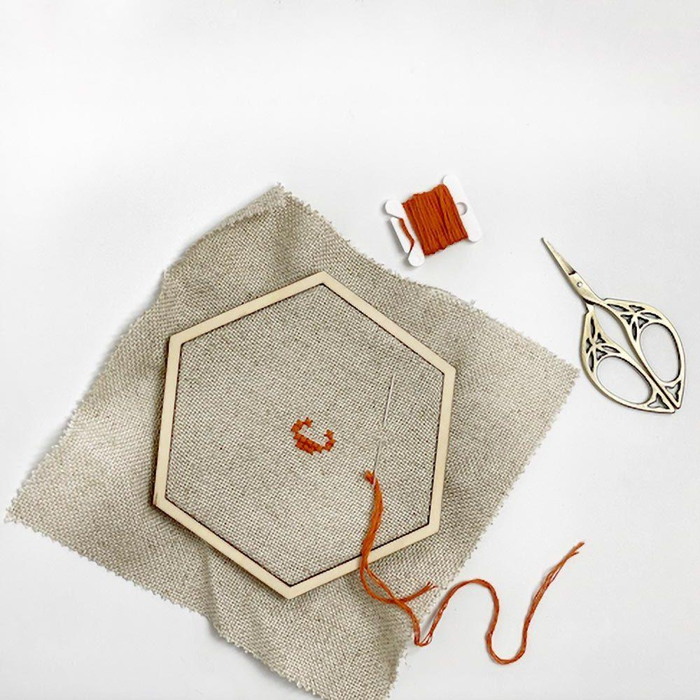 Bastidor hexagonal mediano