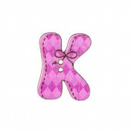Botón letra K