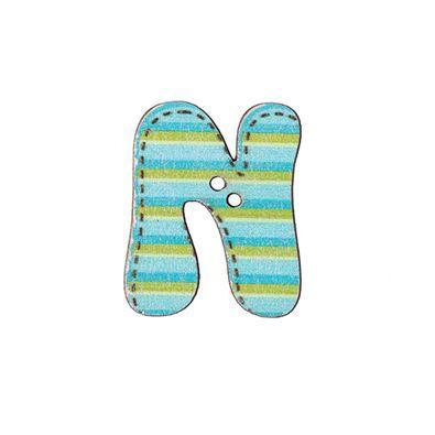 Botón letra N