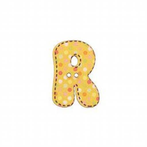 Botón letra R