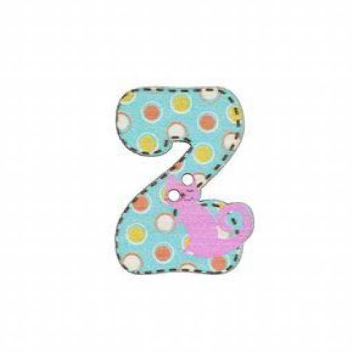 Botón letra Z