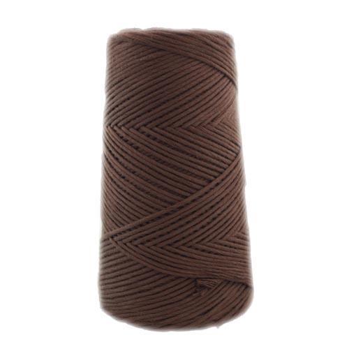 Algodón Peinado 1904 Marrón chocolate