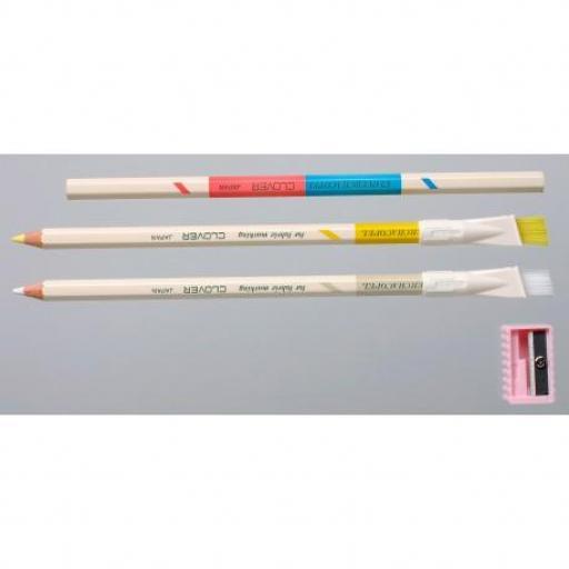 Lápices para textil solubles en agua Clover [1]