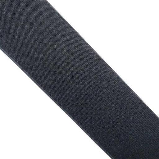 Goma plana negra 55 mm