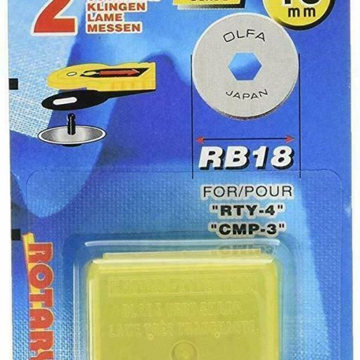 Recambio de cuchilla 18 mm Olfa [1]