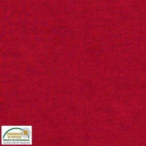 Tela patchwork Melange 409 Rojo quemado