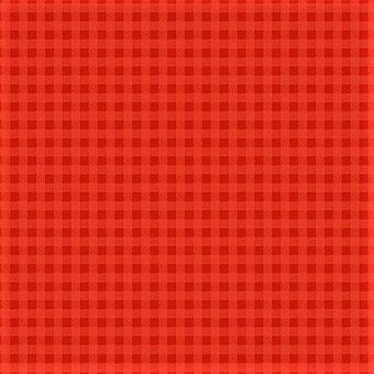 Tela patchwork de cuadraditos rojos 50623