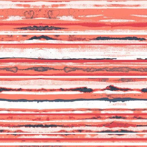 Tela patchwork con veteados en salmón y oscuros