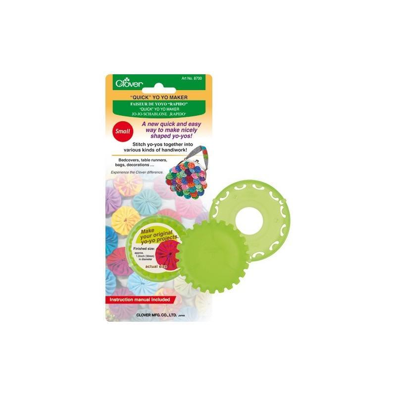 Molde para hacer yo-yos pequeño Clover