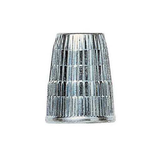 Dedal plano zinc con cabeza antideslizante  [1]