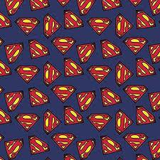 Tela patchwork azul Superman