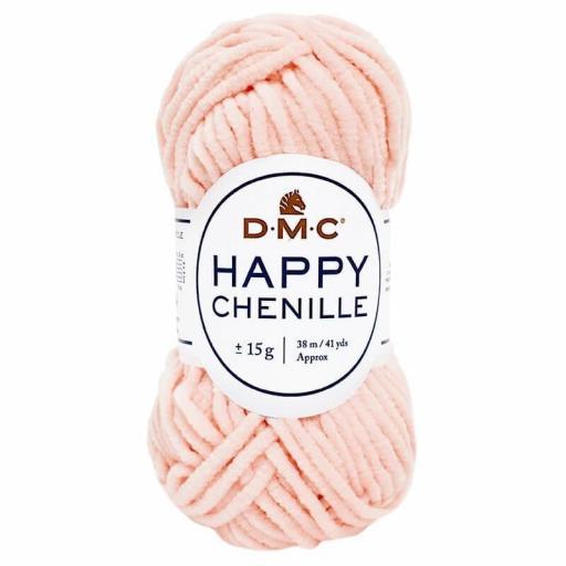 Lana DMC Happy Chenille 15 Rosa claro
