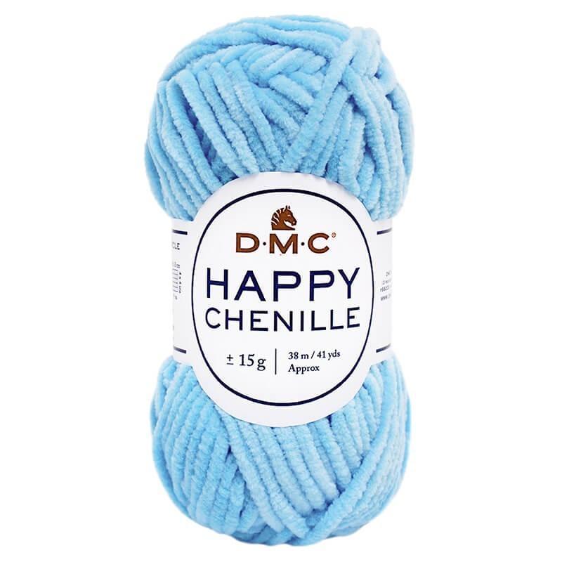 Lana DMC Happy Chenille 17 Azul turquesa