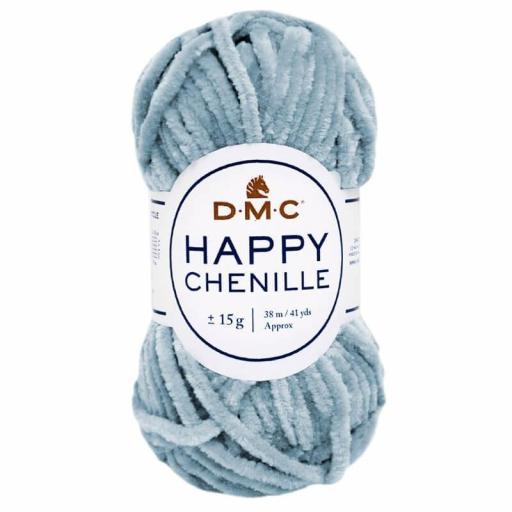 Lana DMC Happy Chenille 18 Azul grisáceo