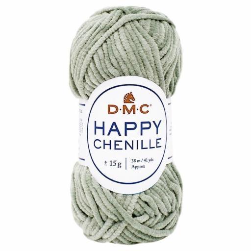 Lana DMC Happy Chenille 23 Verde seco