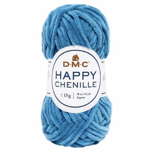 Lana DMC Happy Chenille 26 Azul oxford
