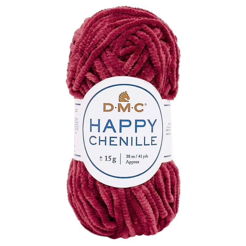 Lana DMC Happy Chenille 31 Bourdeos