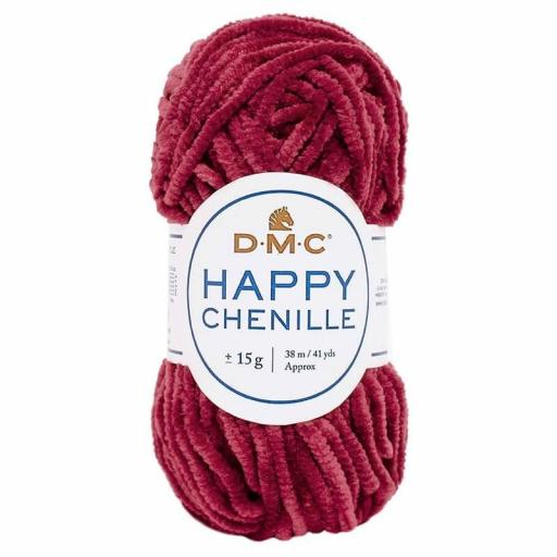 Lana DMC Happy Chenille 31 Bourdeos
