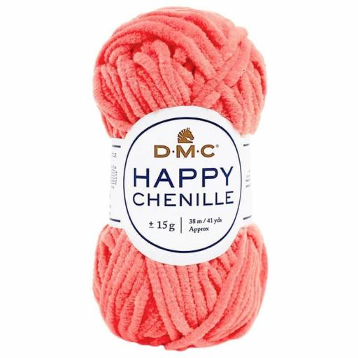 Lana DMC Happy Chenille 32 Coral