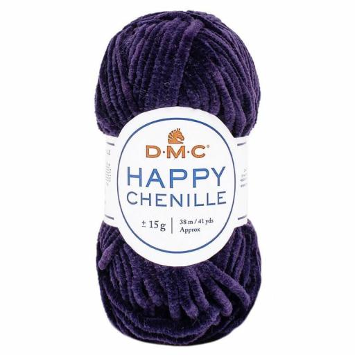 Lana DMC Happy Chenille 33 Morado