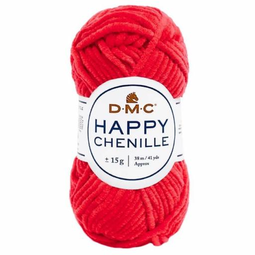 Lana DMC Happy Chenille 34 Rojo