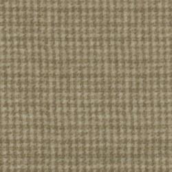 Tela patchwork franela pata de gallo beige