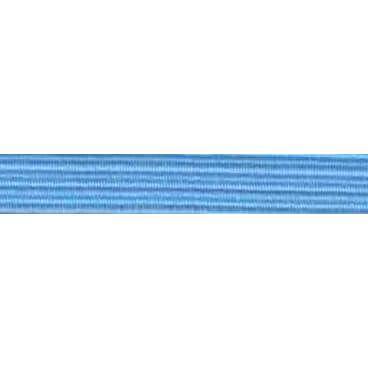 Goma plana azul 6 mm