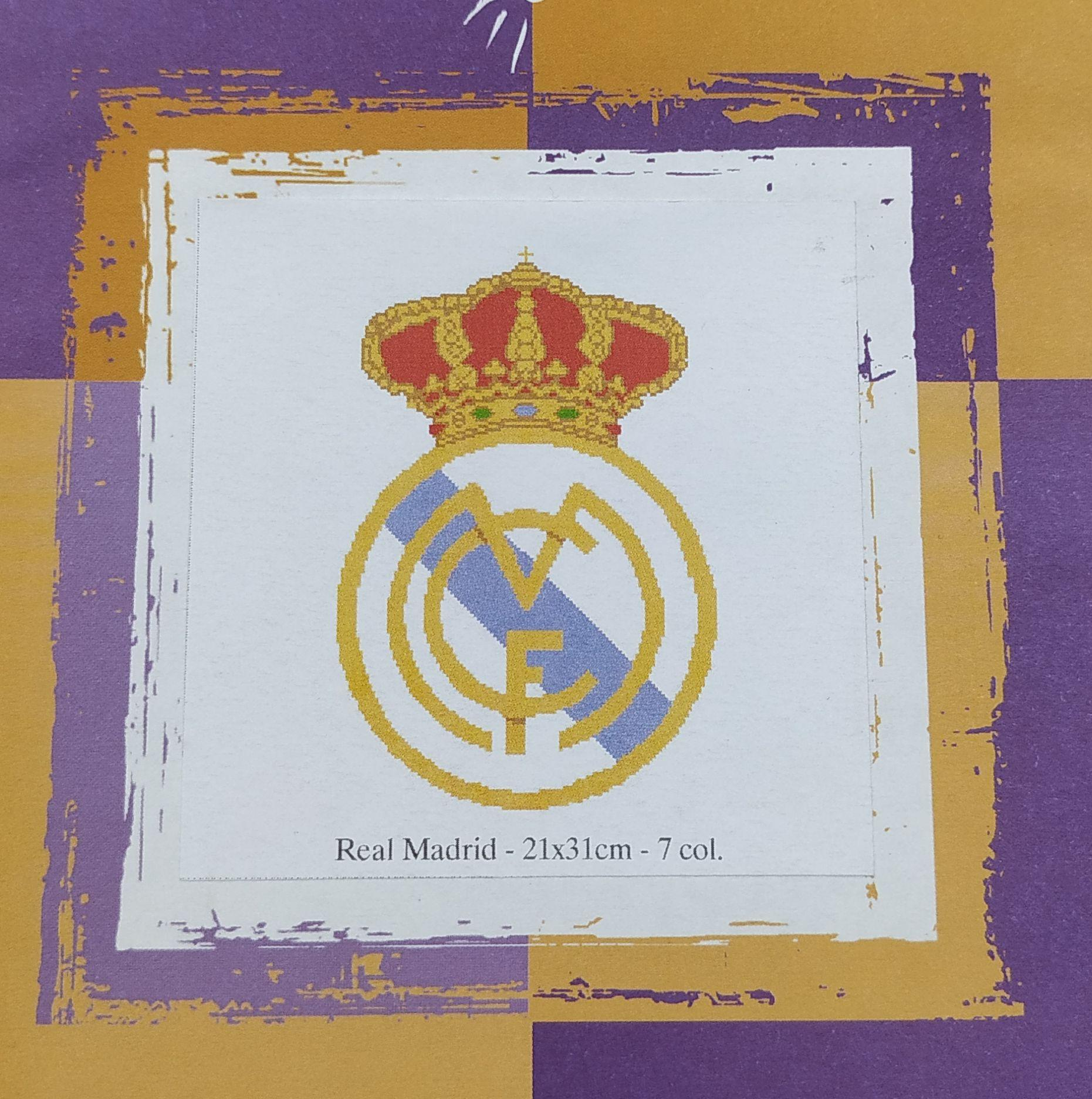 Gráfico Escudo Real Madrid