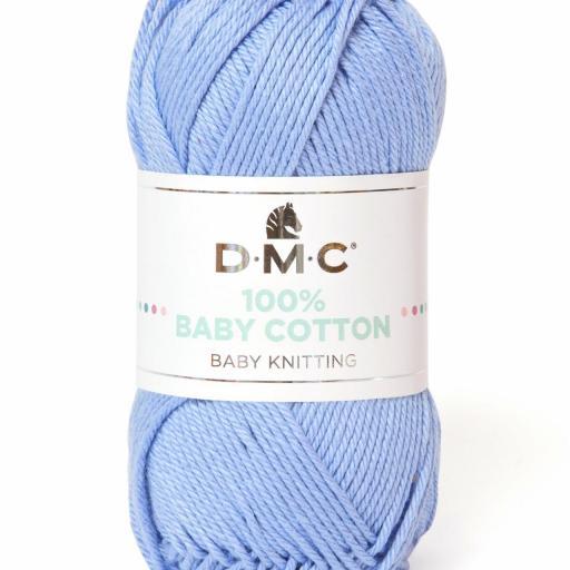 Hilo DMC 100% Baby Cotton 751 Azul