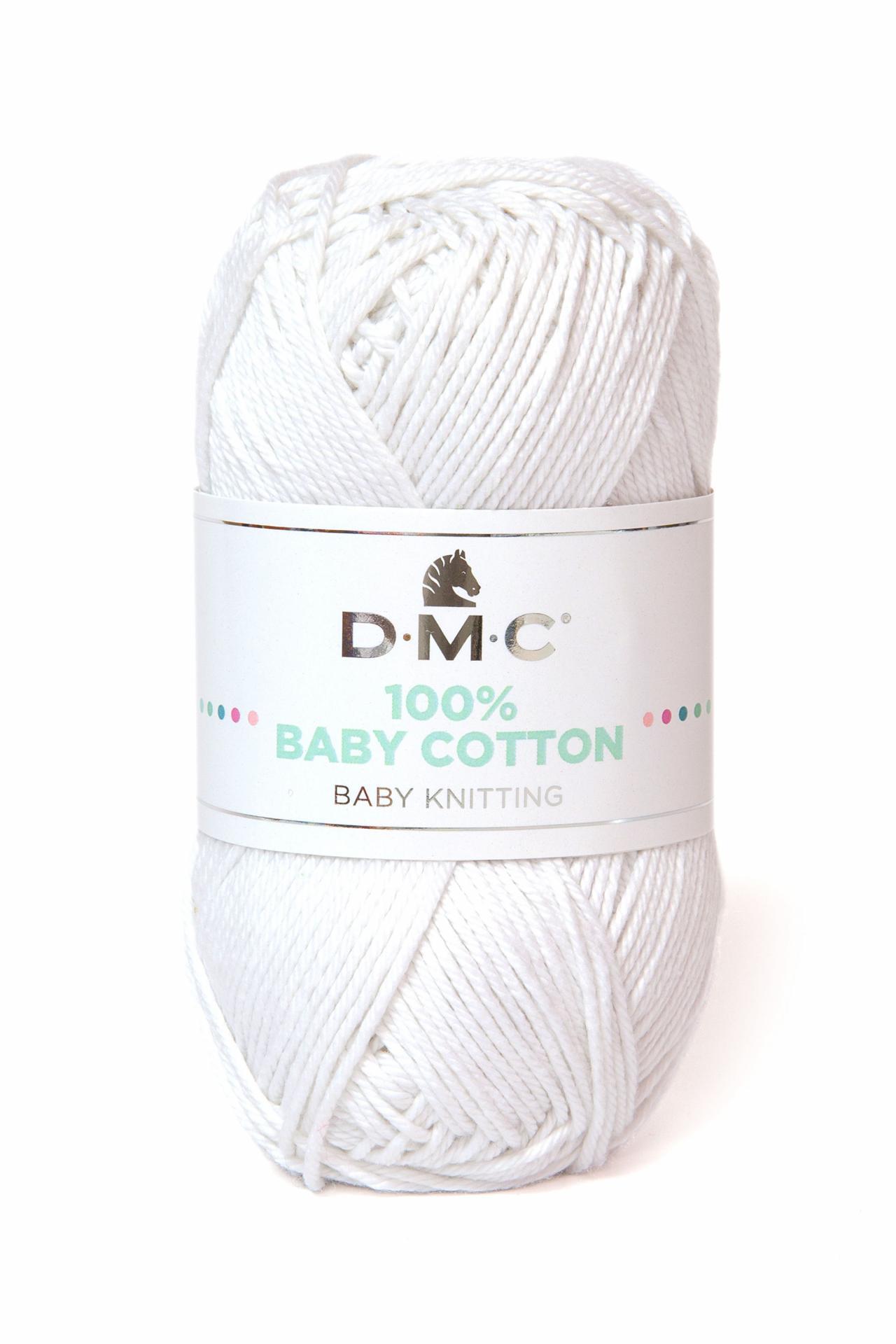 Hilo DMC 100% Baby Cotton 762 Blanco