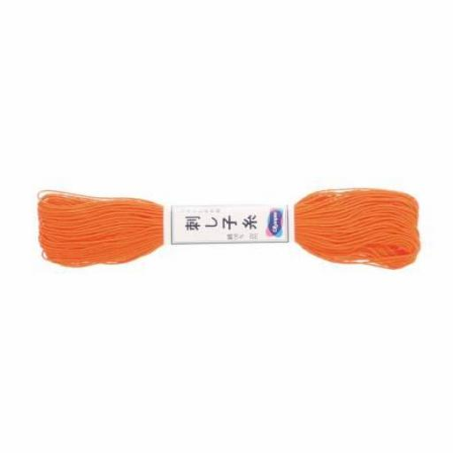 Hilo para Sashiko 22 Naranja Olympus