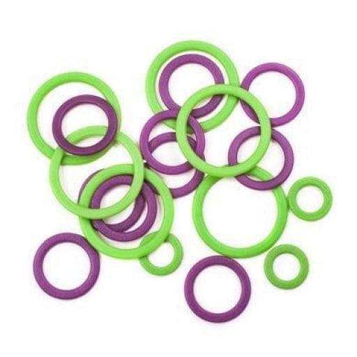 Marcadores anillos cerrados  KnitPro