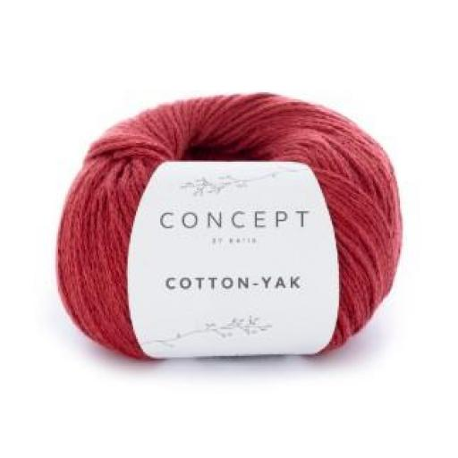 Cotton Yak 105 Rojo