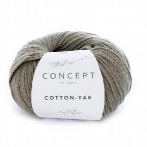 Cotton Yak 107 Verde palo