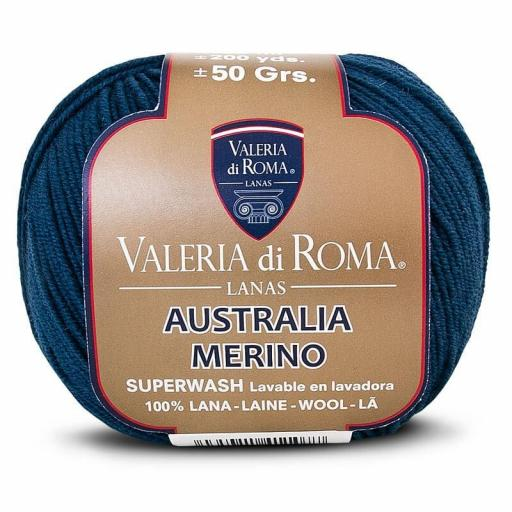 Valeria Australia Merino 021 Azul marino