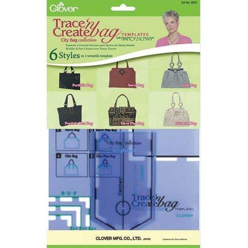 """Plantillas para crear bolsos """"City Bag"""" Clover"""