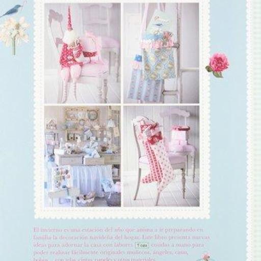 Ideas para adornar la casa en Invierno con labores decorativas Tilda [1]
