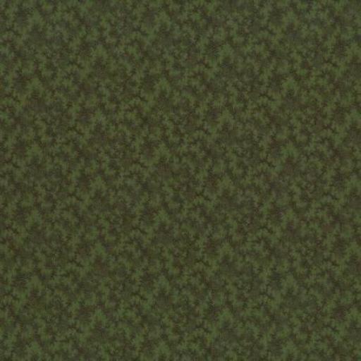 Tela patchwork fondo verde con ramas oscuras 60