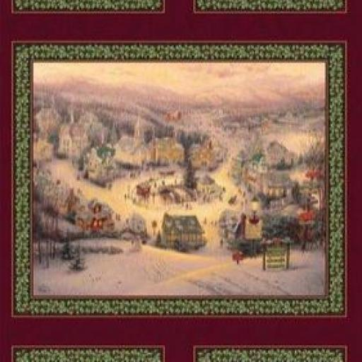 Panel Pueblo en Navidad