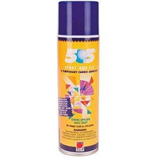 Pegamento temporal 505 en spray de 250 ml