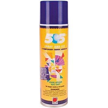 Pegamento temporal 505 en spray de 500 ml
