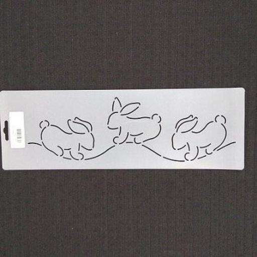 Plantilla de acolchado Bunny Rabbit