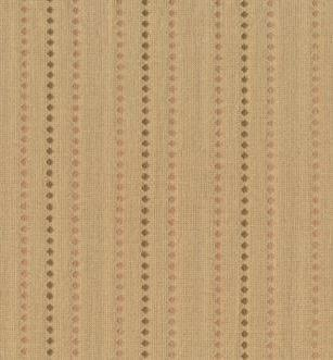 Tela patchwork japonesa tramada caqui con cenefas de rombos 00F