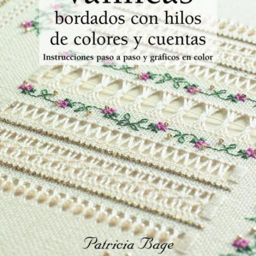 Libro Vainicas Bordados con hilos de colores y cuentas