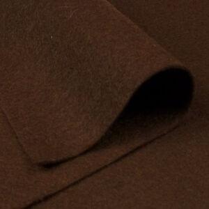 Fieltro en plancha marrón chocolate