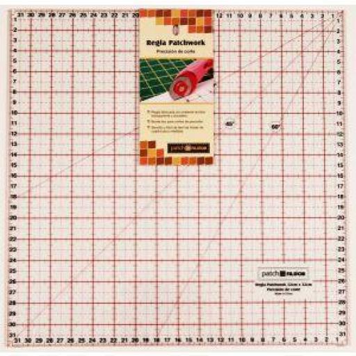 Regla cuadrada 32 x 32 cm