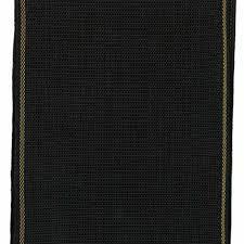 Cinta de Tatami negro 8 cm